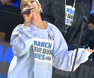 ariana grande and march for our lifes image