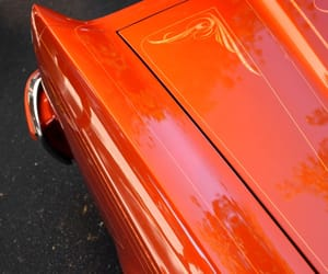 orange, vintage, and cars image