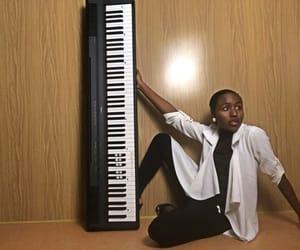 music, amazone, and piano image