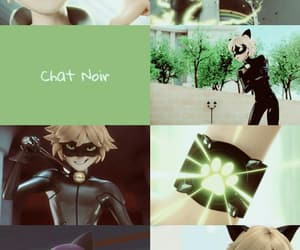 aesthetic, background, and Chat Noir image
