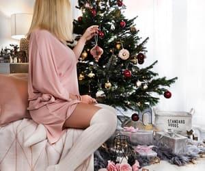 arbre, beauty, and christmas image