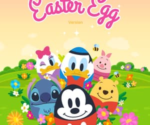 easter egg, disney, and easter image