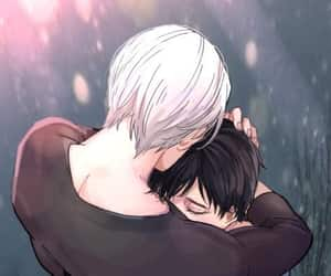 couple, victor, and yuri image