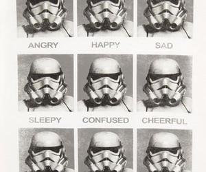 star wars, happy, and sad image