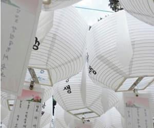 white, lantern, and aesthetic image