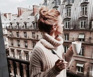 fashion, coffee, and paris image