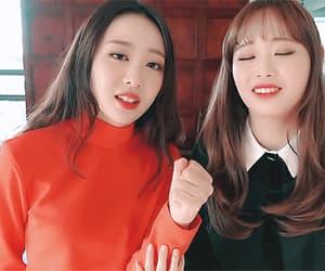 gif, korean, and 츄 image