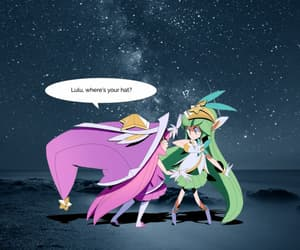 fanart, lol, and lulu image