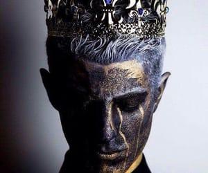 king, crown, and fantasy image