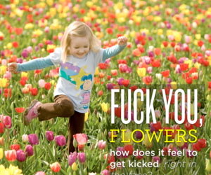 blond, flowers, and fuck image