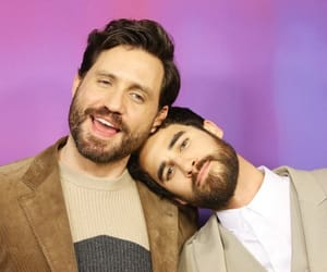 darren criss, edgar ramirez, and criss colfer image