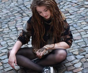 dreadlocks, dreads, and fashion image
