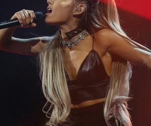 performance, ariana grande, and perform image