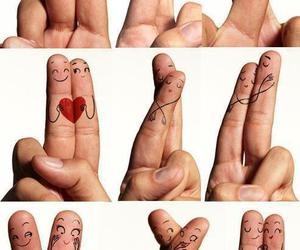 awn, cute, and fingers image