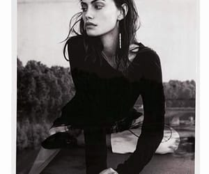 phoebe tonkin, black and white, and model image