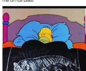 cartoons, comfy, and homer simpson image