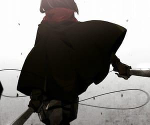 shingeki no kyojin, mikasa ackerman, and attack on titan image