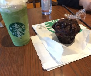 coffe, cupcake, and dinner image