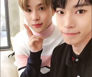 jung woo, doyoung, and nct image