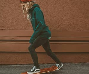 girl, skate, and hailey marie image