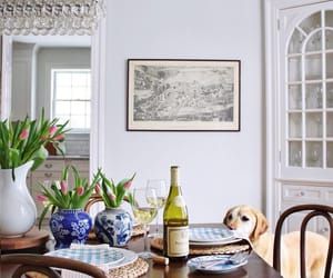 country living, dining room, and home decor image