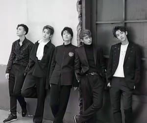 b and w, nct 127, and kpop image