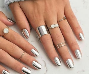 nails and metallic image