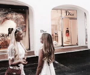 fashion, dior, and friendship image
