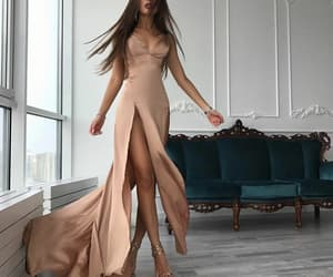 dress, fashion, and Nude image
