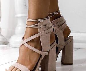 footwear, heels, and Nude image