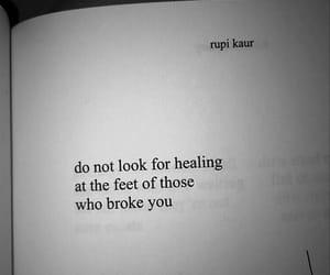 broken, sad, and love image