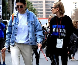 kendall jenner and hailey baldwn image