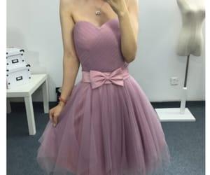 pink homecoming dresses image