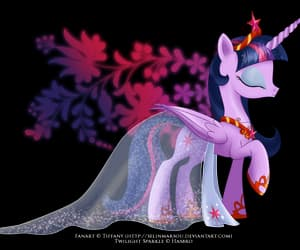 my little pony, twilight sparkle, and friendship is magic image