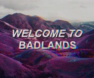 badlands, halsey, and grunge image