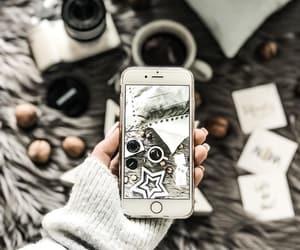 christmas, phone, and photo image