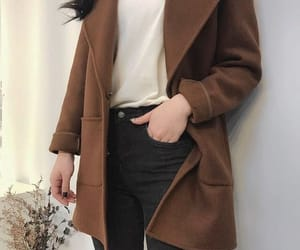 basic, brown, and clothes image