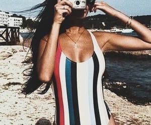 summer, beach, and camera image