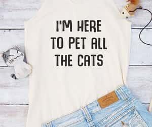 cats, etsy, and slogan image