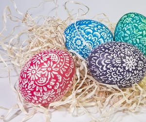 easter, easter eggs, and jesus image