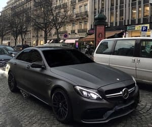 beauty, black, and car image