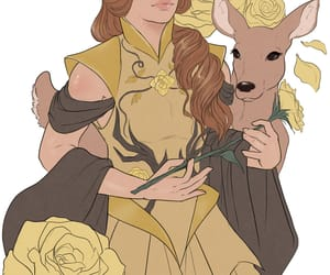 deer, golden rose, and margaery tyrell image