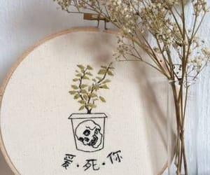 aesthetic, arte, and embriodery image