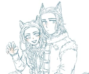 she wolf, winter is coming, and queen of love and beauty image