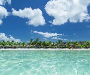 beach, cuba, and ocean image