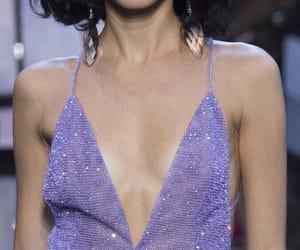 fashion, purple, and dress image