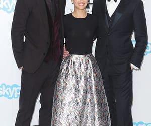 natalie portman, chris hemsworth, and tom hiddleston image