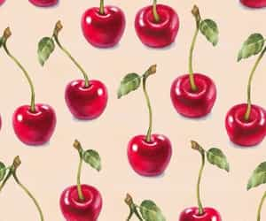 cherry, background, and pattern image