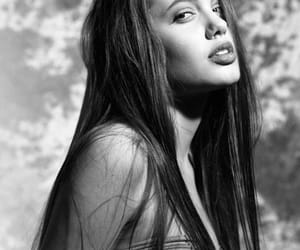 Angelina Jolie, beauty, and brunette image