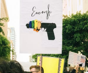 demonstration, gun control, and march image